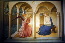 L'Annonciation. Fra Angelico